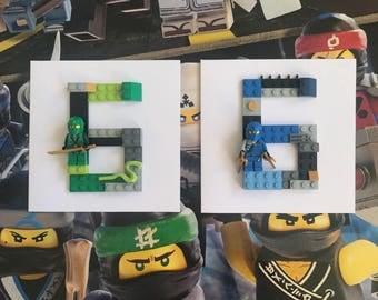 Handmade Lego Ninjago Cards