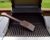 Wood Grill Scraper with Handle - All-Natural Grill Cleaning Tool