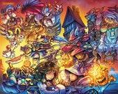 Final Fantasy 9 Tribute Prints