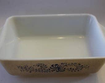 Pyrex Homestead Retangular Baking Dish 503-B NO LID