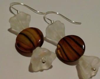 Caramel Candy Earrings