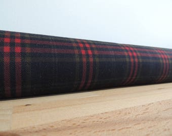 Tartan door stopper. window draft Stopper. Door or window snake. Draught excluder. House and home accessory.eco friendly energy saver.