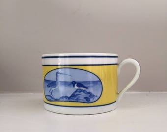 Vintage Ocean Pattern Teacup
