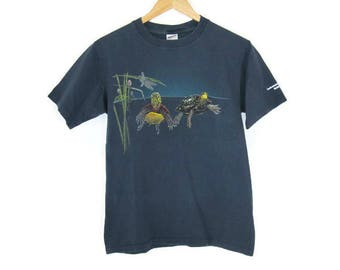 Cotton Spotted Turtle T Shirt Size Small