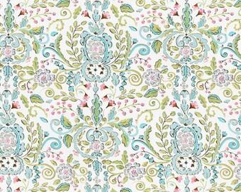 1 yard  Dena Designs Maison Damask- Lovebird Damask- Leanika Fabric OOP