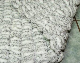 Bunting baby wool 3/6months tassels - handmade - 100% polyester