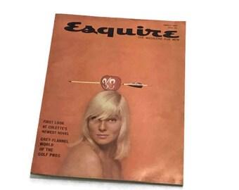 Vintage Esquire Magazine * March 1960 * Grey-Flannel World of Golf Pros