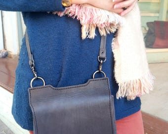 Small leather bag cross body
