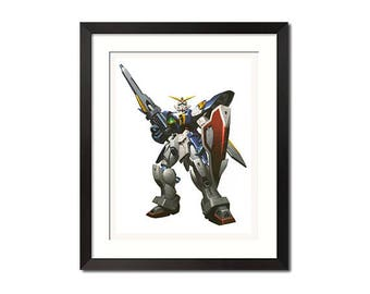 Gundam Giant Super Robot Poster Print 0797