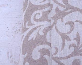 Pure linen fabric | Pillow cower fabric | 100% linen | Cushions | Handcrafts | Organic fabric | Baby fabric | Jacquard | Double side linen