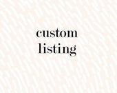 Custom Baby Bodysuit Order for Jessica