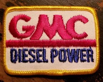 Vintage GMC Truck Diesel Power Patch