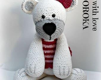 Teddy bear handmade crochet on request.