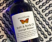 Orange Blossom - Body Oil - Bath Oil