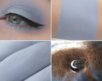 Eyeshadow: Gray-winged - Light Castle. Gray-blue matte eyeshadow by SIGIL inspired.