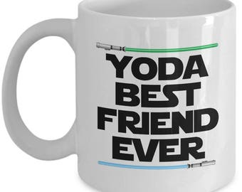 Yoda Best Friend Ever Star Wars Birthday Funny Nerd Gift for family