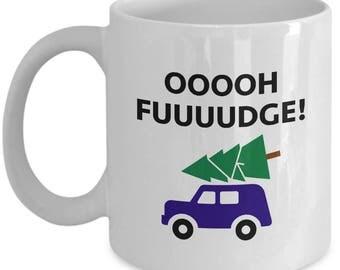Christmas Story Oh Fudge Funny Gift Mug Coffee Cup Movie Ralphie
