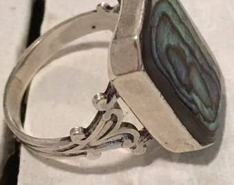Beautiful sterling vintage ring