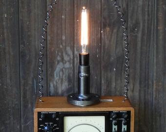 Steampunk Meter Light