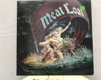 """Meat Loaf - """"Dead Ringer"""" vinyl record"""