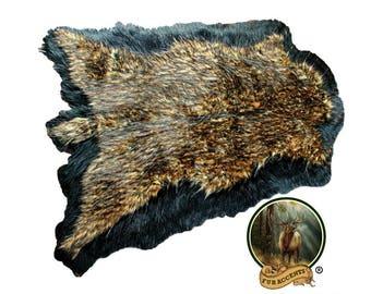 Plush Faux Fur Area Rug   Luxury Fur Thick Double Deer Skin   Faux Fur