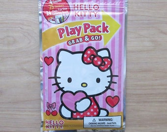 Hello Kitty Play Pack Grab & Go! Stickers~Crayons~Coloring Book~I Love You