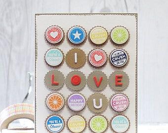 Handmade Card, Love, Valentine, Greeting Card