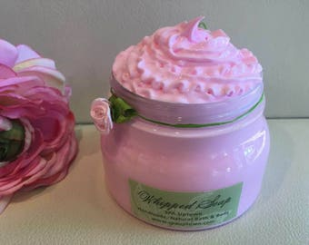 LILAC-Deluxe Whipped SOAP In A Jar-Handmade-SPA Uptown 8 fl oz