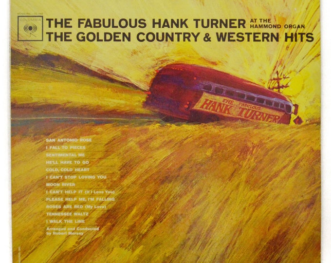 Vintage 60s The Fabulous Hank Turner The Golden Country & Western Hits Album Record Vinyl LP