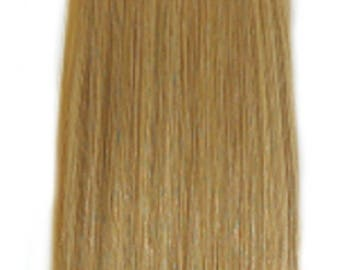 """Miss Flirty Remy Hair Extensions Clip-In 22"""" Long Golden Blonde"""