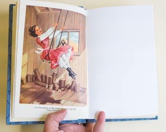 Vintage Upcycled Notebook - What Katy Did - Personalised Present - Handmade Journal
