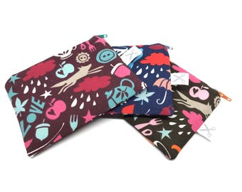 Mini zipper pouch Lovely Things