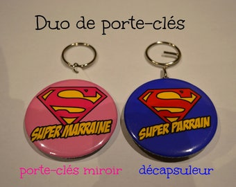 Doors-keys SUPER special godmother and Godfather SUPER duo