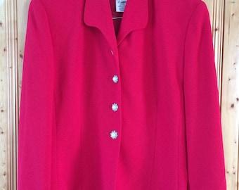Rouie vintage red blazer