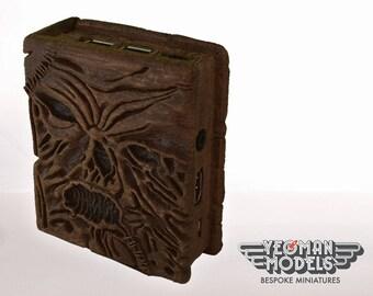Necronomicon 3D Printed Wood Raspberry Pi 3 Case