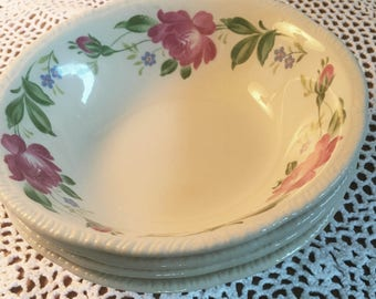 1940s Laughlin Cereal Bowls - Set of 4