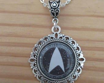Star Trek Starfleet Command Logo Necklace