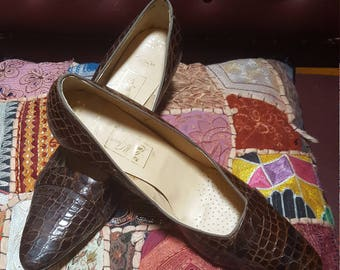 Lady Mcguire Reptile Shoes 50s 60s