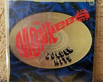 The Monkees Golden Hits Rare LP Vinyl Record Music Album