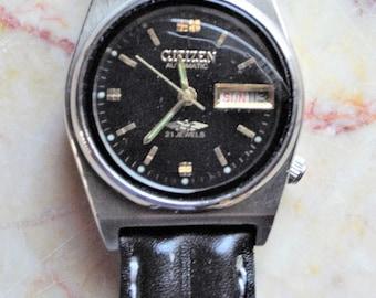Vintage Citizen Automatic Watch - 21 Jewels