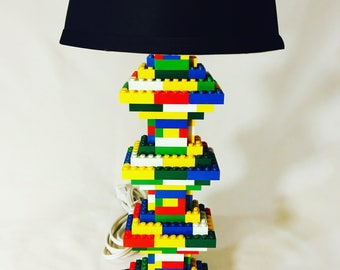 LEGO® Lamp - Multicolor Rainbow Tiered