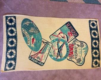 Vintage Windsor Sunbelt Beach Towel