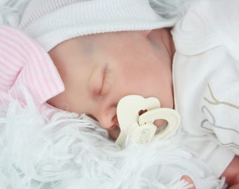 TWIN B by Bonnie Brown Reborn Baby Doll with Certificate of Authenticity NO HAIR... To Be Made