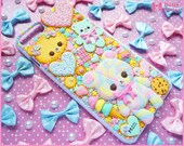 Kawaii sweet decoden iPhone 8 PLUS deco case -Favorite Sweets- by Dolly House