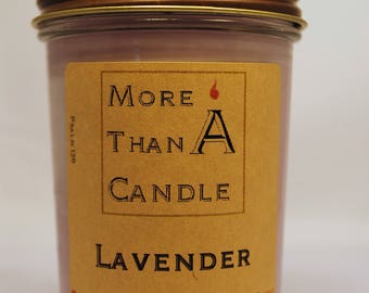 8 oz Lavender Soy Candle