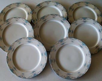 Fashion Royale Heirloom Set Of Eight Dinner Plates