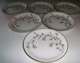 Noritake Florence Set Of Six Salad Plates