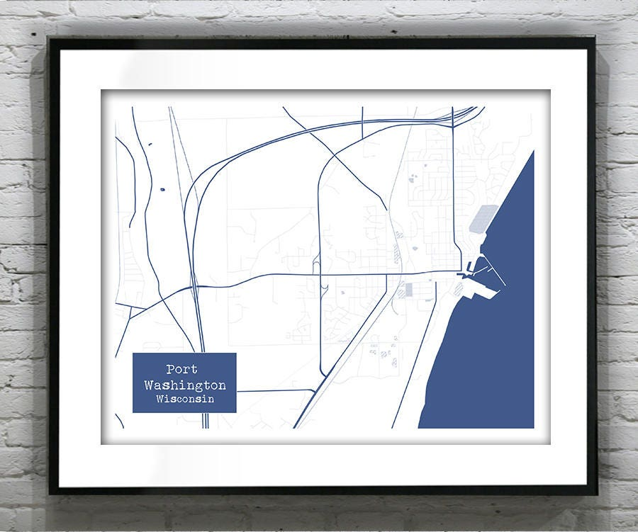 15 off spring sale port washington wisconsin blueprint map poster 15 off spring sale port washington wisconsin blueprint map poster art print several sizes available item t1077 malvernweather Images