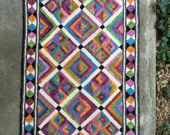 Mosaic Rug Patterns Etsy