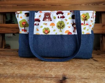 Woodland Animals Diaper Bag